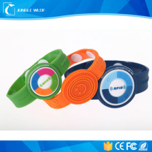 RFID Wristband Ntag203 Tag,  Ntag203 Wristband Tag pictures & photos