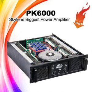 Skytone Professional Audio Amplifier, 7200W Pk6000 High Power Amplifier pictures & photos