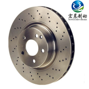 Auto Spare Part Drilled and Slotted Brake Discs for Dodge