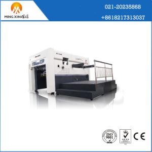 Semi- Automatic Die Cutting and Creasing Carton Box Making Machine