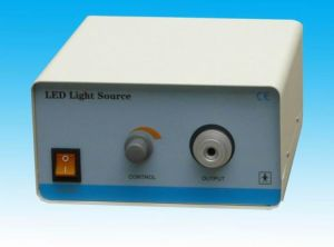 Surgical 80W LED Light Source for Medical Endoscope Illumination pictures & photos