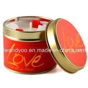 Luxury Tin Scented Soy Wax Candles for Decoration pictures & photos