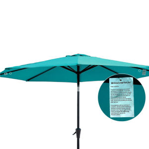 270*6k Patio Umbrella, Sunshade, Garden Parasol, Acrylic Round Market Umbrella pictures & photos