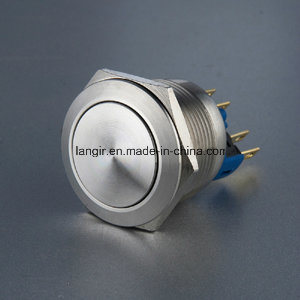 22mm Non-Illuminated Momentary Vandal Resistant Push Button Switch pictures & photos