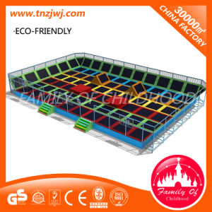 Large Jumping Trampoline Park Indoor Playground for Kid pictures & photos