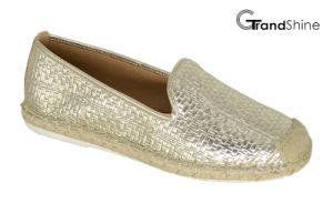 Women′s Espadrille Flat Casual Shoes pictures & photos