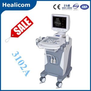 Hot Sell Trolley Full Digital Ultrasound Scanner Ultrasound (HBW-10) pictures & photos