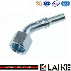 (24241) Carbon Steel 45 Degree Orfs Female Hydraulic Crimping Fittings