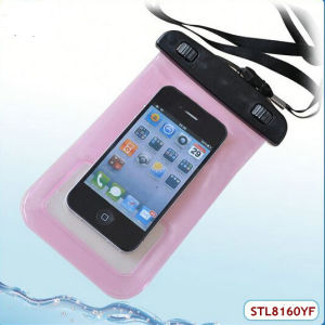 Swimming Sports New PVC Waterproof Bag for Mobile Phone with Ipx8 Certificate