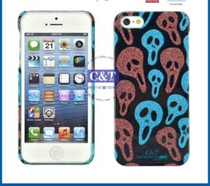 Gilter Skull Plastic Skin for iPhone 5s Case pictures & photos