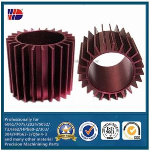 Precision CNC Machining Parts Anodized Sandblast Casting Aluminum Heat Sinks pictures & photos