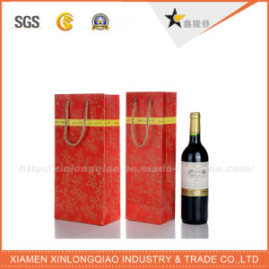 Professional Manufacturer Customized Paper Bags for Wine Bottle pictures & photos