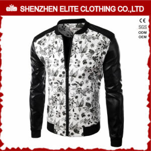 Men Slim Fit Motorcycle Leather Jacket Online pictures & photos