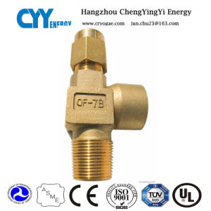 Low Temperature Oxygen Nitrogen Safety Valve pictures & photos