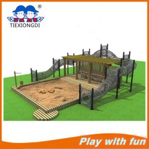 High Quality Wooden Outdoor Playground Set on Promotion pictures & photos