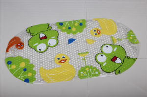 Best Price PVC Anti-Slip Bath Mat, 100% Cotton Loop Bath Mat pictures & photos
