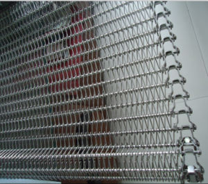 Wire Mesh Conveyor Belt for Food Freezering Processing pictures & photos