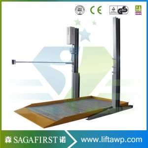Ce Approved Smart Two 2 Post Home Auto Lift pictures & photos