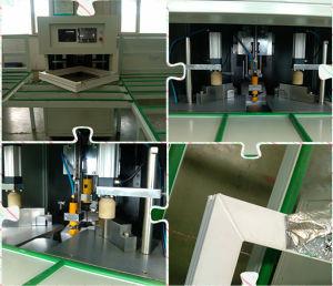 PVC Plastic Window Door Horizontal CNC 4 Corner Welding Machine pictures & photos