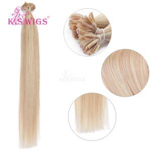 K. S Wigs Top Grade U Tip Nail Hair Keratin Hair Extension 100% Indian Human Hair pictures & photos