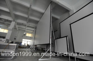 16 9 200 Inch Fast Folding Projection Screen pictures & photos