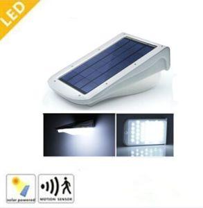 3W Outdoor LED Solar Garden Street Lights with Motion / Sound Sensor (CE RoHS)