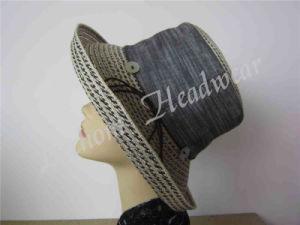 Fedora Lady Sun Hat (LB15088) pictures & photos