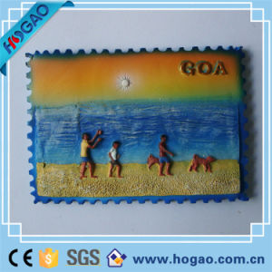 Beautiful Scenery Plate Resin Plate People in Seaside pictures & photos