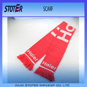 Wholesale Custom Logo Knitting Sports Scarf
