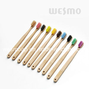 Eco-Friendly Bamboo Toothbrush (WBB0870J) pictures & photos