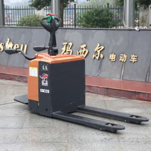 Warehouse 2ton Pallet Stacker Electric Type Manufacturer (CBD20) pictures & photos