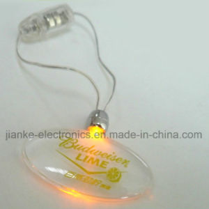 Party Club LED Blinking Logo Pendants for Promotion Gifts (2001) pictures & photos