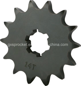 Front Chain Sprocket Wheel Suzuki Ax100 14t pictures & photos