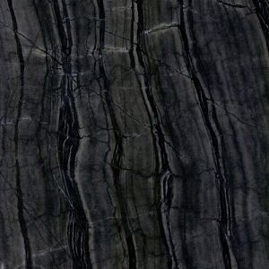China Polished Natural Stone Marble Tiles/Slabs with Black/White Wood Texture