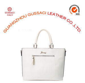 Wholesale Simple Design Powder White Tote Bag