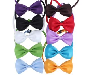 Wholesale Multicolor Color Pet Collar Bow pictures & photos