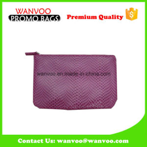 Factory Cheap Lady′s Cosmetic PU Leather Wallet Leisure Bag pictures & photos
