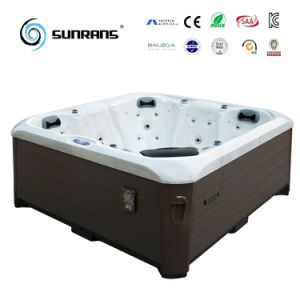 2017 New Design Sunrans Outdoor SPA with Europe America Massage for 5 Person Hot Tub pictures & photos