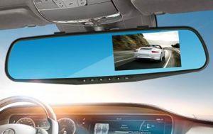 High Definition 1080P 2-Lens Camera Infrared Night Vision 4.3′′tft Digital Car Camera DVR