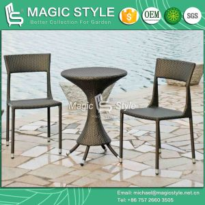 Hot Sale Patio Coffee Set Outdoor Rattan Chair Outdoor Coffee Table Garden Wicker Chair (Magic style) pictures & photos