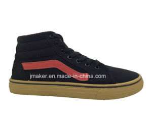 Classic High Top Men′s Walking Footwear Sneaker (Y049-M) pictures & photos