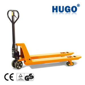 2500kg Cheap Hydraulic Rough Terrain Hand Pallet Truck with Ce pictures & photos