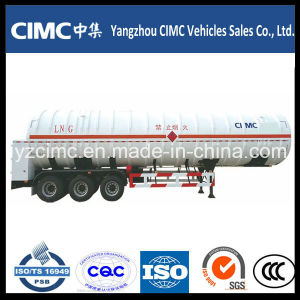 56000L Cryogenic LNG Tank Trailer pictures & photos