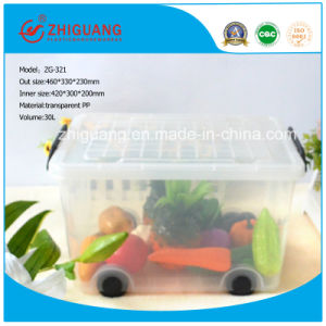 Plastic Storage Box for Food/Clothes pictures & photos