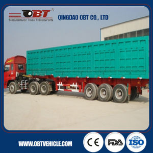 China Hot Selling Box Semi Trailer for Sale pictures & photos