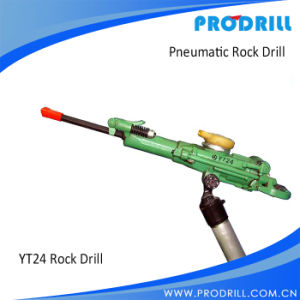 Yt24 Horizontal Pneumatic Airleg Rock Drill Machine pictures & photos
