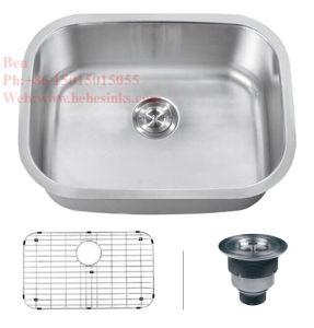 Kitchen Sink, Stainless Steel Under Mount Single Bowl Kitchen Sink pictures & photos