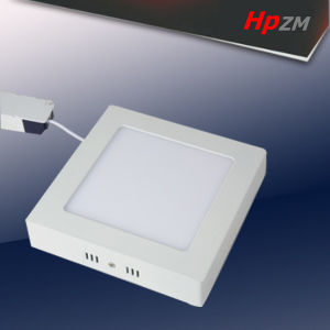 White Aluminum Round Square LED Panel Light pictures & photos
