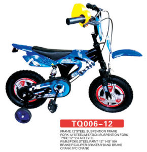 "12"" New Design Model of Motor Style Children Bike pictures & photos"