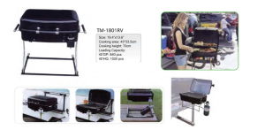 Portable Vehicle Gas BBQ Grill for Camping pictures & photos
